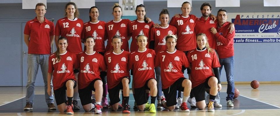 Squadra A2 Femminile 2015/2016